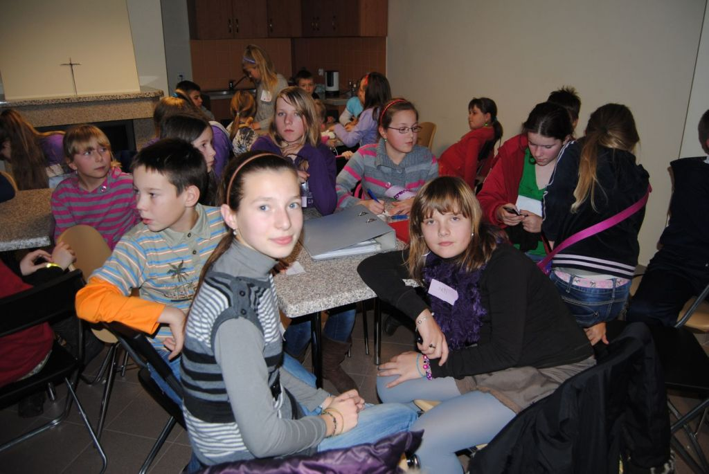 Spotkania dla dzieci – listopad 2011