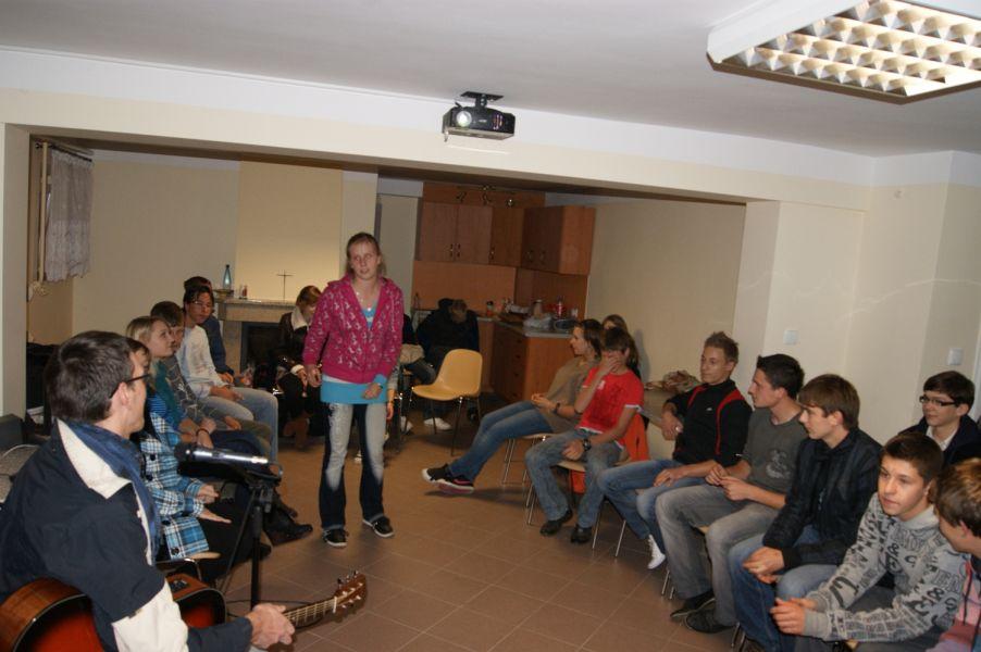 Spotkania dla młodzieży – październik 2011